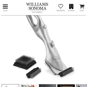 Grand Grill Daddy Grill Brush New